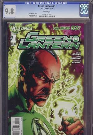Green Lantern Vol 5 #1 1st Ptg Regular Ivan Reis Cover CGC 9.8