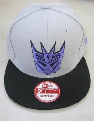 Transformers Decepticon Basic Strap Official Snap Back Cap M/L