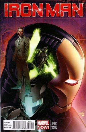 Iron Man Vol 5 #2 Incentive Greg Land Variant Cover