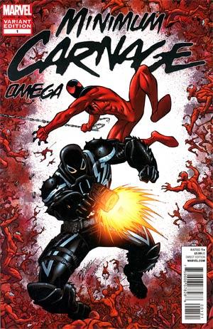 Minimum Carnage Omega #1 Incentive Ron Lim Variant Cover (Minimum Carnage Part 6)
