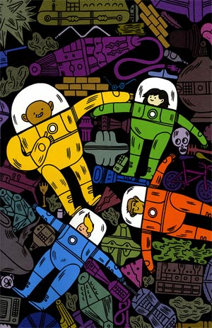 Bravest Warriors #2 Incentive Jon Boam Virgin Variant Cover