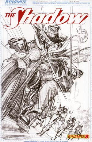 Shadow Vol 5 #8 Incentive Alex Ross Sketch Cover