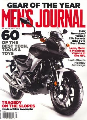 Mens Journal Vol 21 #11 Dec 2012 / Jan 2013