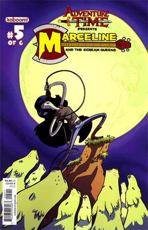 Adventure Time Marceline And The Scream Queens #5 Cover B Regular Andy Hirsch Cover