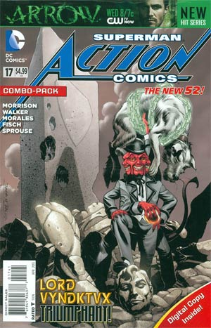 Action Comics Vol 2 #17 Combo Pack With Polybag
