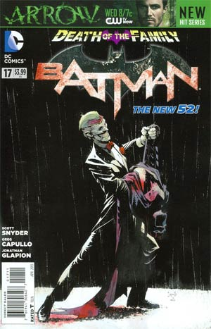 Batman Vol 2 #17 Cover A Regular Greg Capullo Cover (Death Of The Family Tie-In)