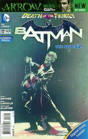 Batman Vol 2 #17 Cover C Combo Pack With Polybag (Death Of The Family Tie-In)