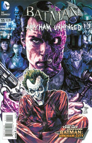 Batman Arkham Unhinged #11