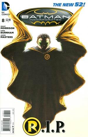 Batman Incorporated Vol 2 #8 1st Ptg Regular Chris Burnham Cover