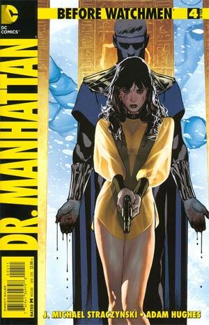 Before Watchmen Dr Manhattan #4 Regular Adam Hughes Cover