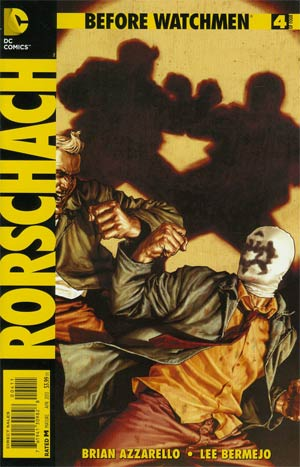Before Watchmen Rorschach #4 Cover A Regular Lee Bermejo Cover
