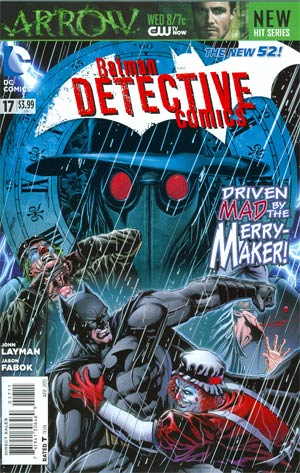 Detective Comics Vol 2 #17 Regular Jason Fabok Cover (Death Of The Family Tie-In)