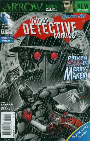 Detective Comics Vol 2 #17 Combo Pack With Polybag (Death Of The Family Tie-In)