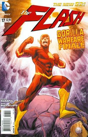 Flash Vol 4 #17 Regular Francis Manapul Cover