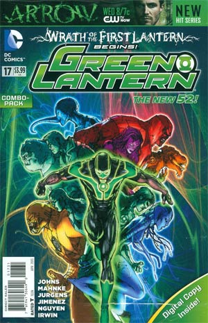 Green Lantern Vol 5 #17 Combo Pack With Polybag (Wrath Of The First Lantern Tie-In)