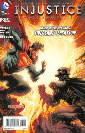 Injustice Gods Among Us #2 1st Ptg