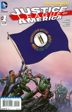 Justice League Of America Vol 3 #1 Variant Kentucky Flag Cover
