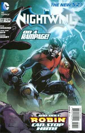 Nightwing Vol 3 #17 (Death Of The Family Tie-In)
