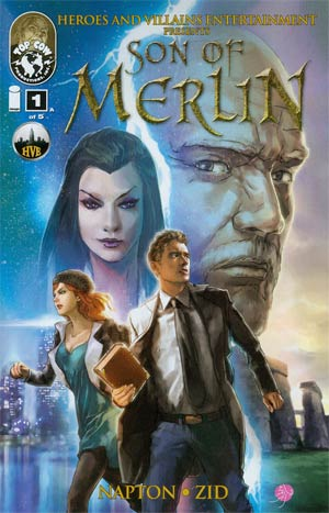 Son Of Merlin #1 Cover A Zid