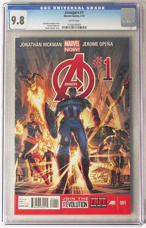 Avengers Vol 5 #1 Cover J DF Exclusive CGC 9.8