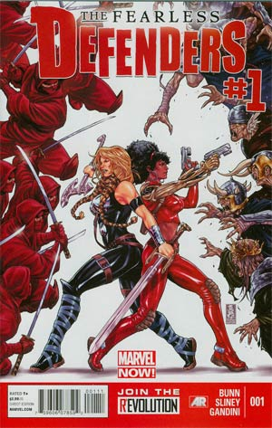 Fearless Defenders #1 Regular Mark Brooks Cover