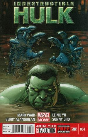 Indestructible Hulk #4 1st Ptg Regular Leinil Francis Yu Cover