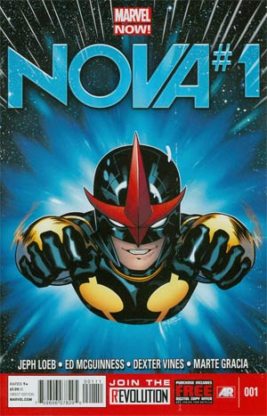Nova Vol 5 #1 Cover A 1st Ptg Regular Ed McGuinness Cover