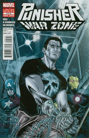Punisher War Zone Vol 3 #5