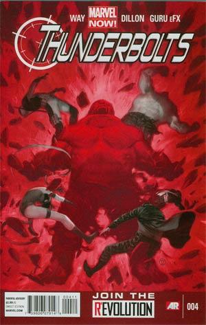 Thunderbolts Vol 2 #4 Regular Julian Totino Tedesco Cover