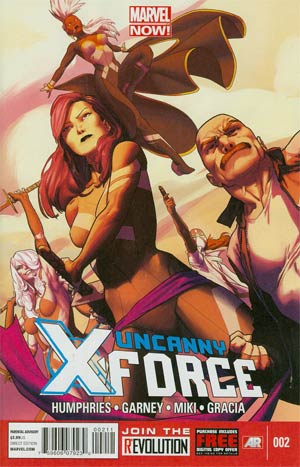 Uncanny X-Force Vol 2 #2 Regular Olivier Coipel Cover