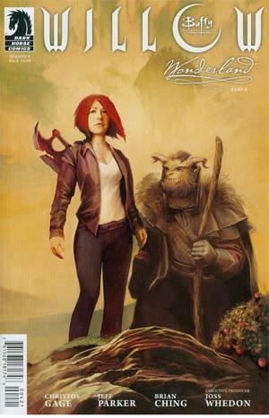 Buffy The Vampire Slayer Willow Wonderland #4 Variant Megan Lara Cover