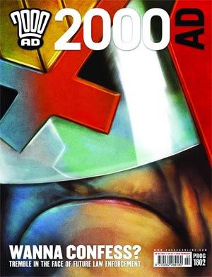 2000 AD #1818 - 1821 Pack February 2013