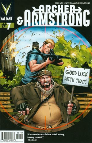 Archer & Armstrong Vol 2 #7 Regular Emanuela Lupacchino Cover