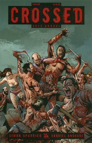 Crossed Annual 2013 #1 Torture Cvr