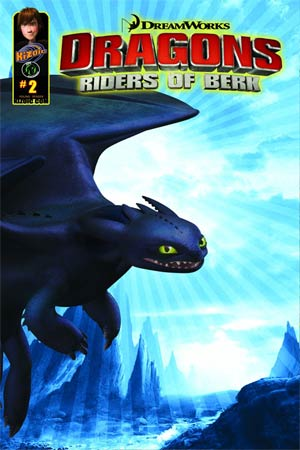 Dragon Riders Of Berk #2 Cvr A CGI