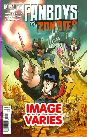 DO NOT USE Fanboys vs Zombies #11 Regular Cover (Filled Randomly With 1 Of 2 Covers)