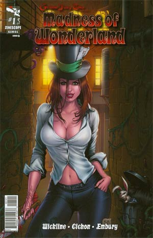 Grimm Fairy Tales Presents Madness Of Wonderland #1 Cover B Mike Krome