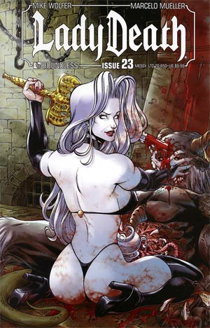 Lady Death Vol 3 #23 Messy Cover
