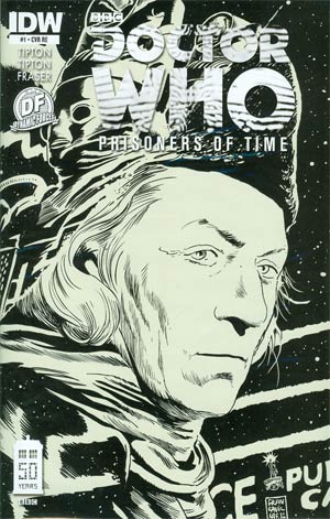 Doctor Who Prisoners Of Time #1 Cover D DF Exclusive Variant Cover