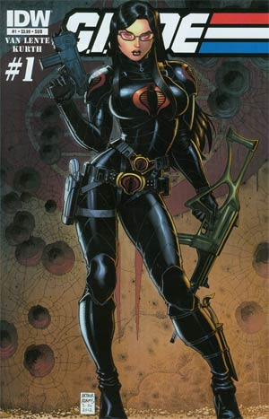 GI Joe Vol 6 #1 Variant Art Adams Baroness Subscription Cover