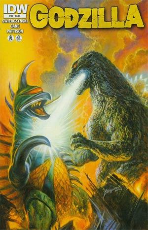 Godzilla Vol 2 #10 Cover A Regular Bob Eggleton Cover