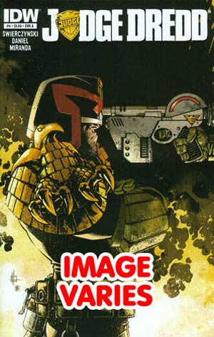 DO NOT USE Judge Dredd Vol 4 #4 Regular Cover (Filled Randomly With 1 Of 2 Covers)