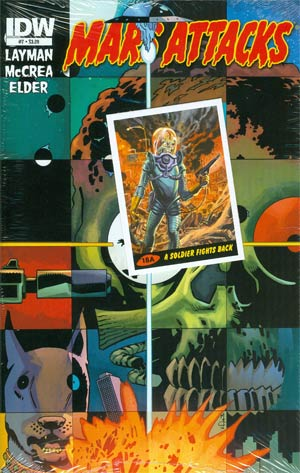 Mars Attacks Vol 3 #7 Regular John McCrea Cover