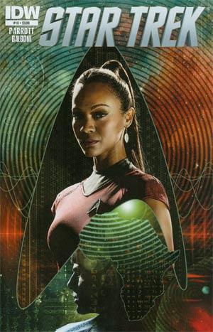Star Trek (IDW) #18 Regular Tim Bradstreet Cover