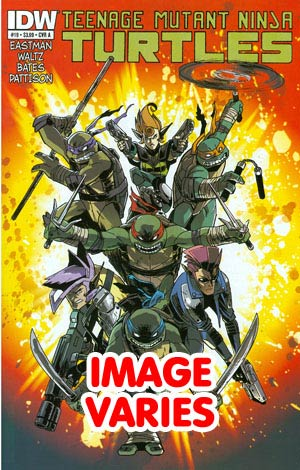 DO NOT USE Teenage Mutant Ninja Turtles Vol 5 #19 1st Ptg Regular Cover (Filled Randomly With 1 Of 2 Covers)