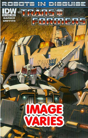 DO NOT USE Transformers Robots In Disguise #14 Regular Cover (Filled Randomly With 1 Of 2 Covers)