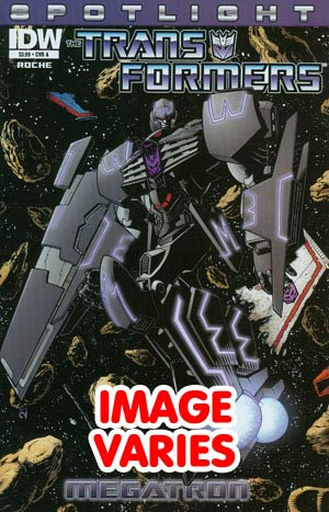 Transformers Spotlight Megatron One Shot 1st Ptg Regular Cover (Filled Randomly With 1 Of 2 Covers)