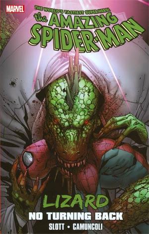 Spider-Man Lizard No Turning Back TP