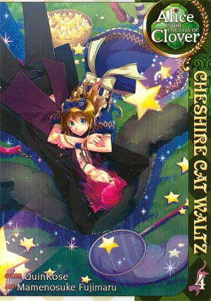 Alice In The Country Of Clover Cheshire Cat Waltz Vol 4 GN