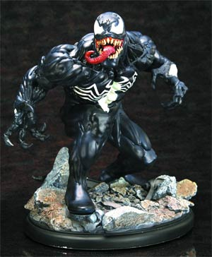 Amazing Spider-Man Venom Unbound Fine Art Statue